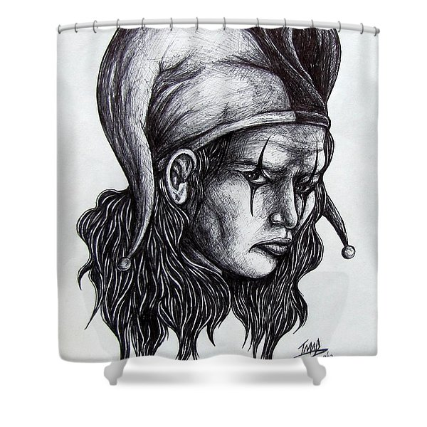 The Jester Shower Curtain