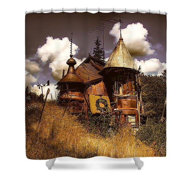 The Junk Castle Shower Curtain