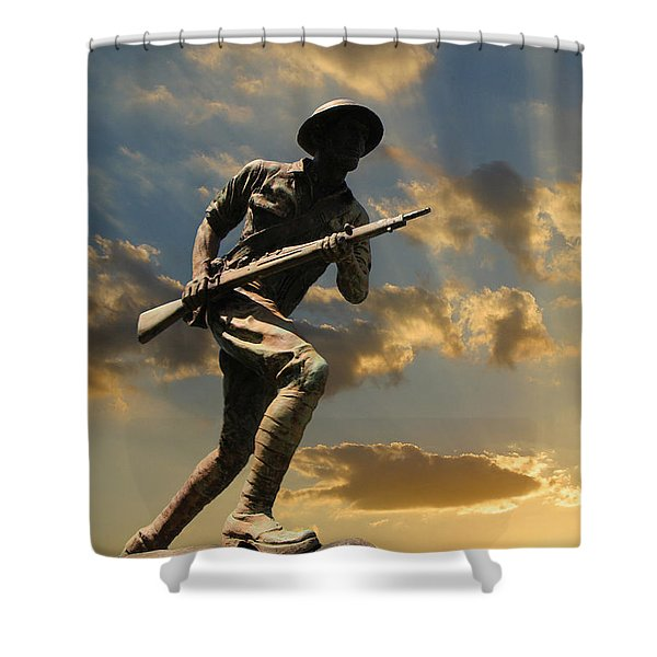 The Unknown Soldier Shower Curtain
