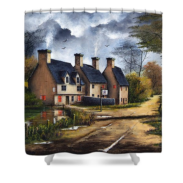 Travellers Rest Shower Curtain