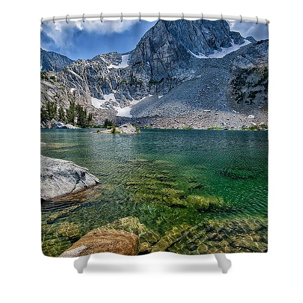 Treasure Lakes Shower Curtain