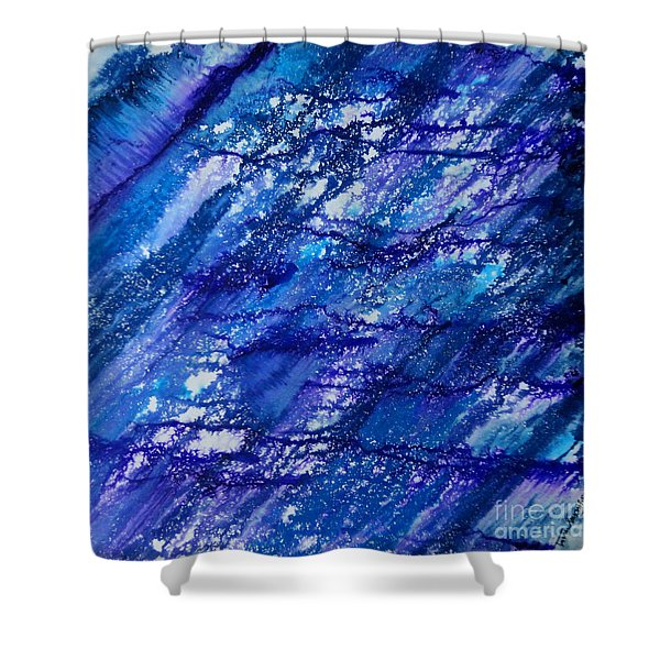 Winter Of Duars Shower Curtain