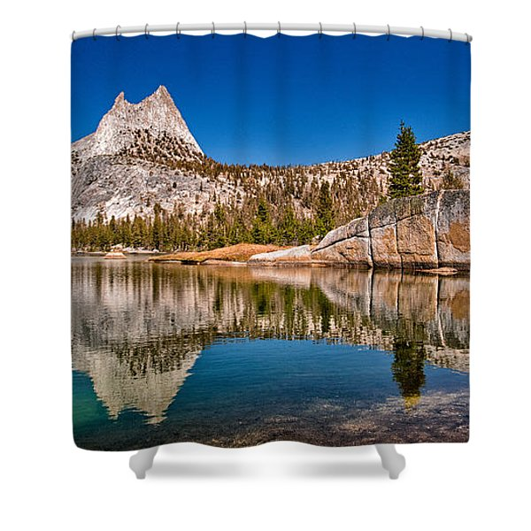 Upper Cathedral Lake Shower Curtain