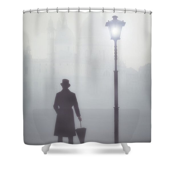 Victorian Man Shower Curtain