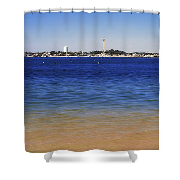View Of Ocean, Provincetown, Cape Cod Shower Curtain