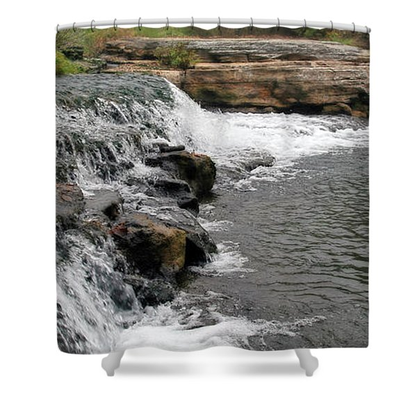 Spring Creek Waterfall Shower Curtain