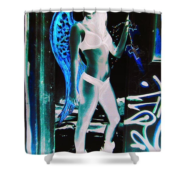 When Heaven And Earth Collide 2 Shower Curtain