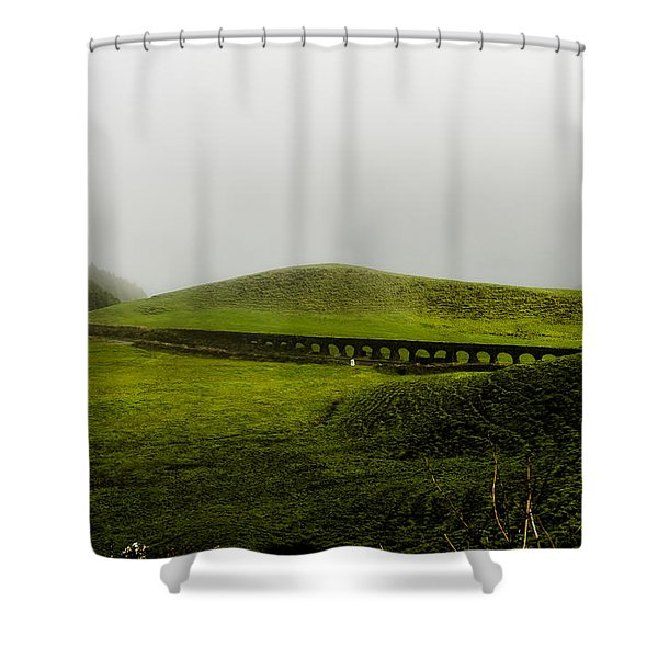 When The Romans Came Shower Curtain