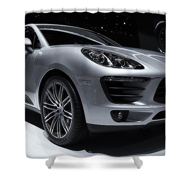 2014 Porsche Macan Shower Curtain