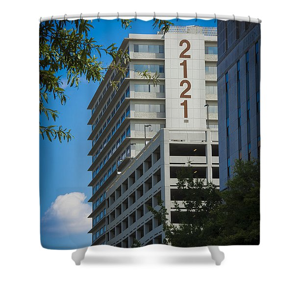 2121 Building Shower Curtain