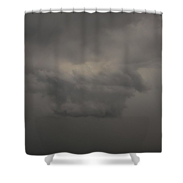 Shower Curtain featuring the photograph Let The Storm Season Begin by NebraskaSC
