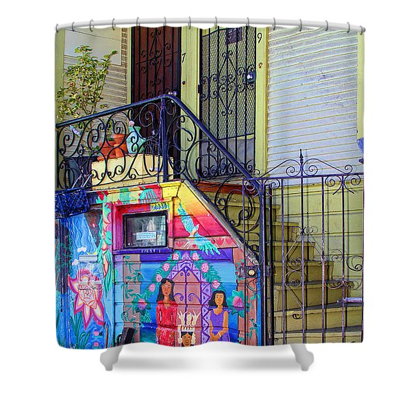 25 Balmy Alley San Francisco Shower Curtain