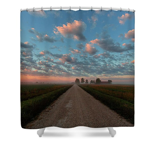 Whooping Crane Reintroduction, Direct Shower Curtain