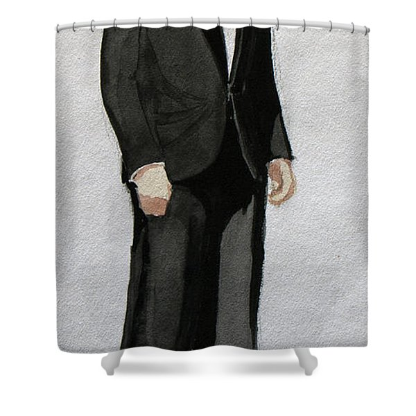 Gatsby Study 1 Shower Curtain