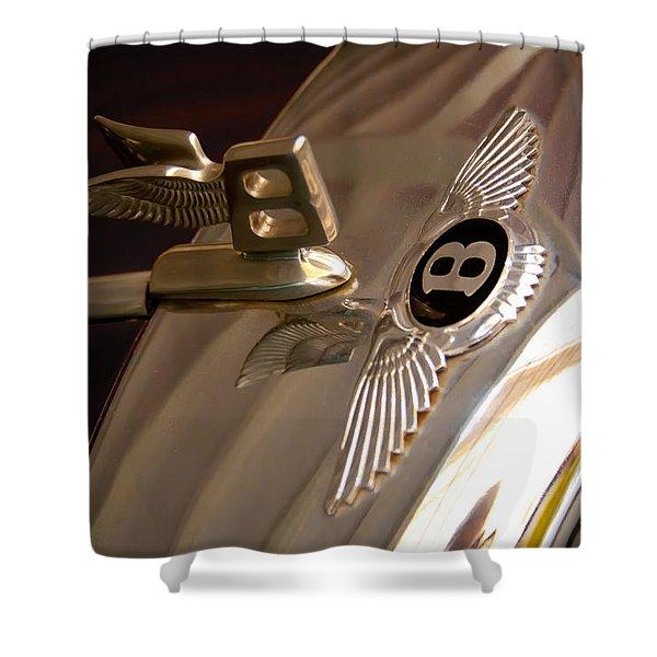 1956 Bentley S1 Shower Curtain