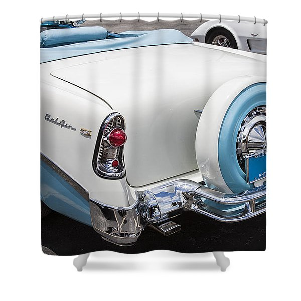 1956 Chevrolet Bel Air Convertible Shower Curtain