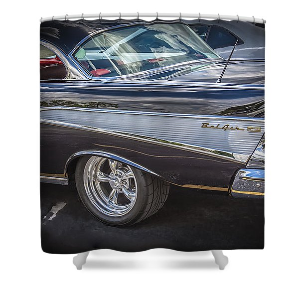1957 Chevrolet Bel Air Shower Curtain