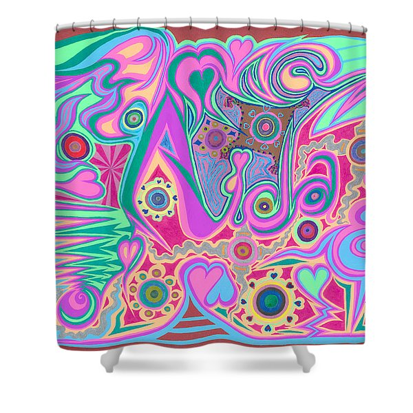 Aida Shower Curtain