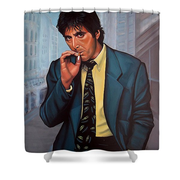 Al Pacino 2 Shower Curtain