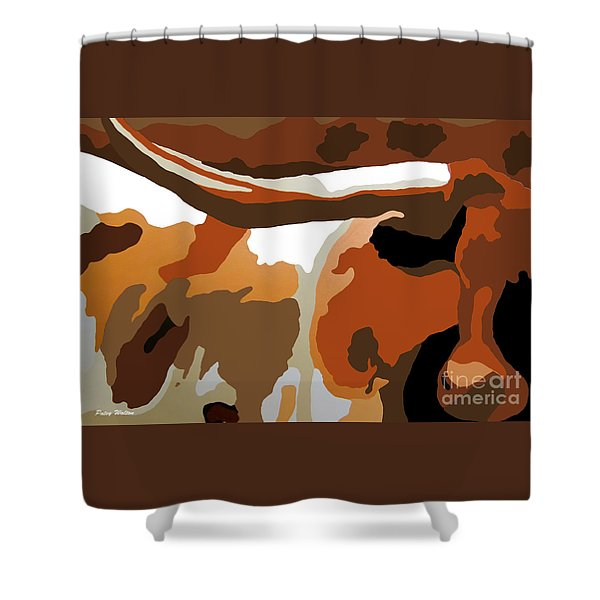Bad Dude Shower Curtain
