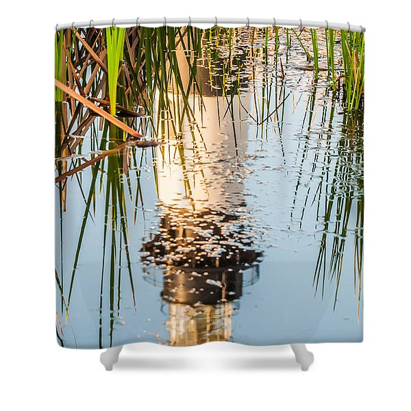 Bodie Island Lighthouse Obx Cape Hatteras North Carolina Shower Curtain