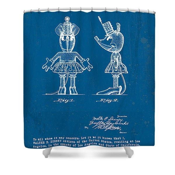 Disney Minnie Mouse Shower Curtain