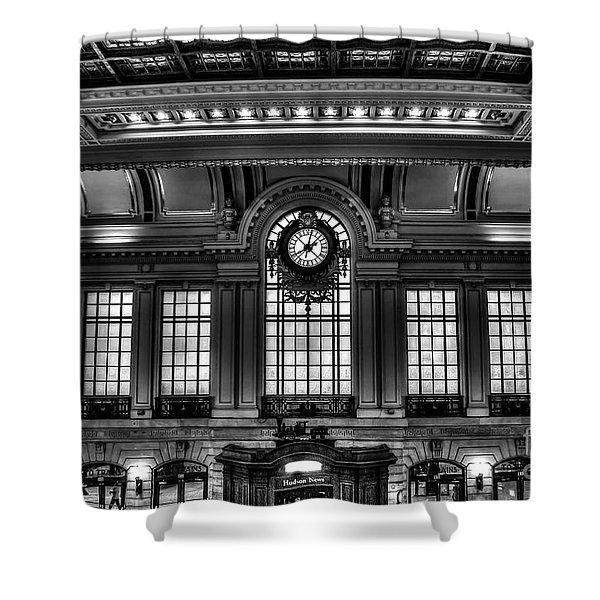 Hoboken Terminal Shower Curtain
