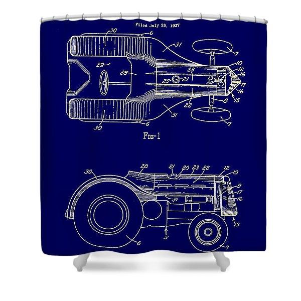 John Deere Tractor Patent 1939 Shower Curtain