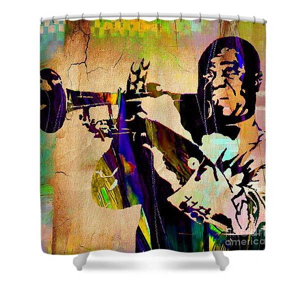 Louis Armstrong Collection Shower Curtain