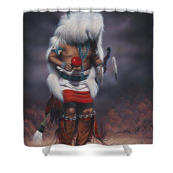 Mystic Dancer Shower Curtain