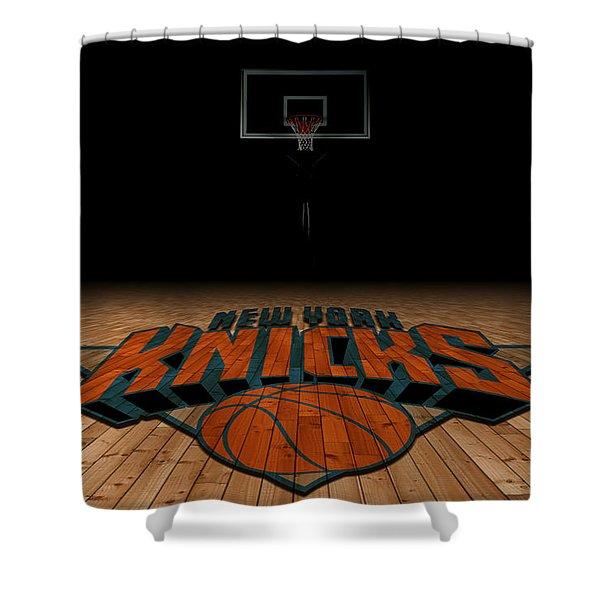 New York Knicks Shower Curtain