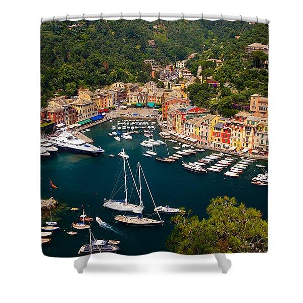 Shower Curtain featuring the photograph Portofino by Brian Jannsen