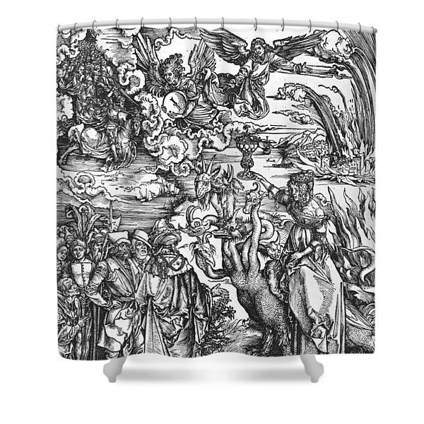 Scene From The Apocalypse Shower Curtain