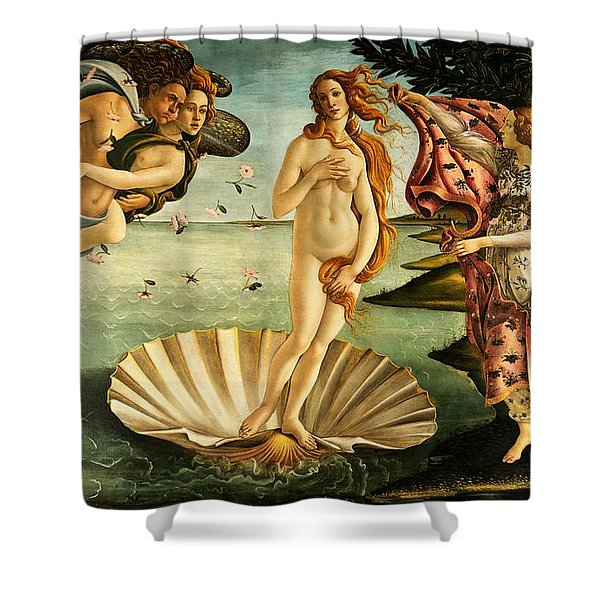 The Birth Of Venus Shower Curtain