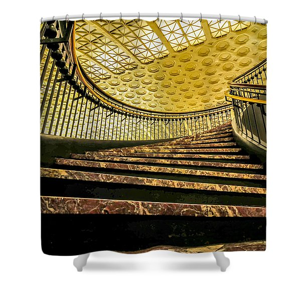 Union Station Washington Dc Shower Curtain