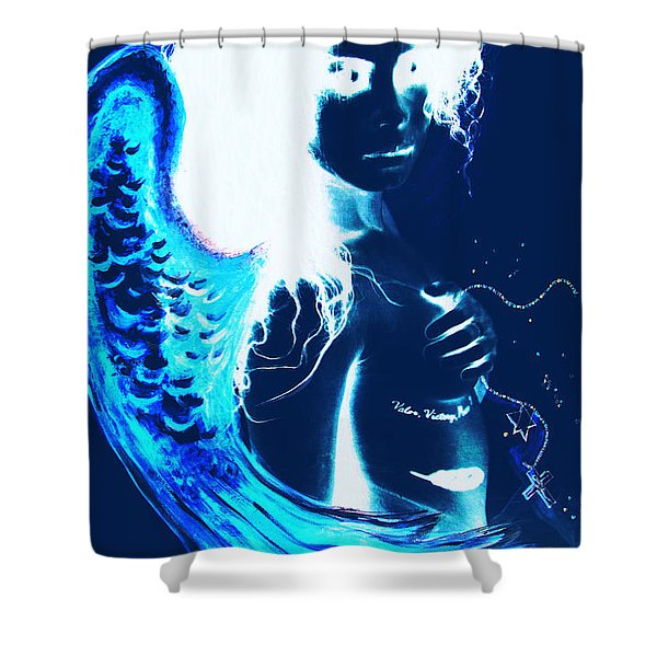 When Heaven And Earth Collide 1 Shower Curtain