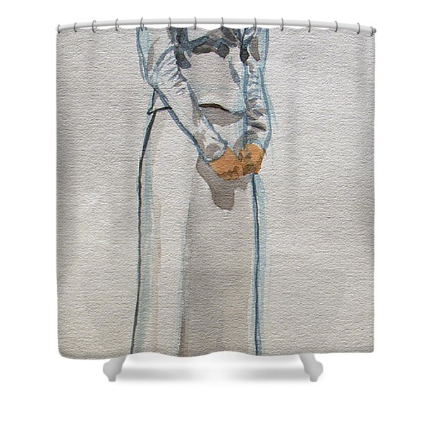 A Day At The Seashore 1 Shower Curtain