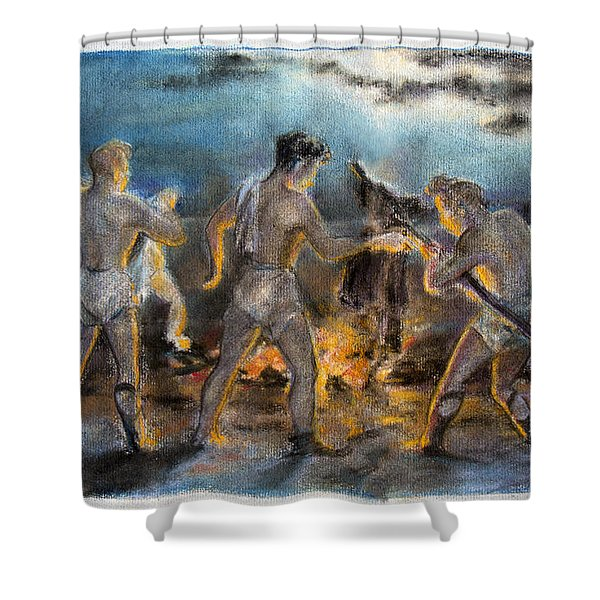 Beelzebub Shower Curtain