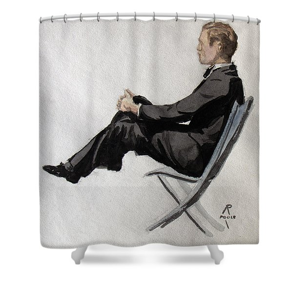 Gatsby Study 2 Shower Curtain
