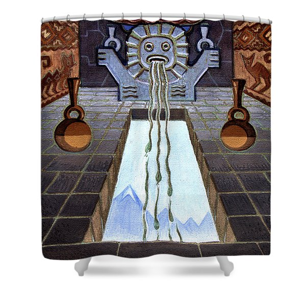 Mayan Passage Shower Curtain