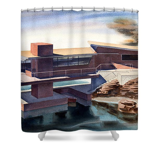 Modern Dream Shower Curtain