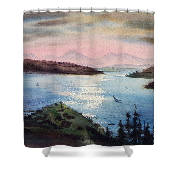 Pacific Northwest Shower Curtain