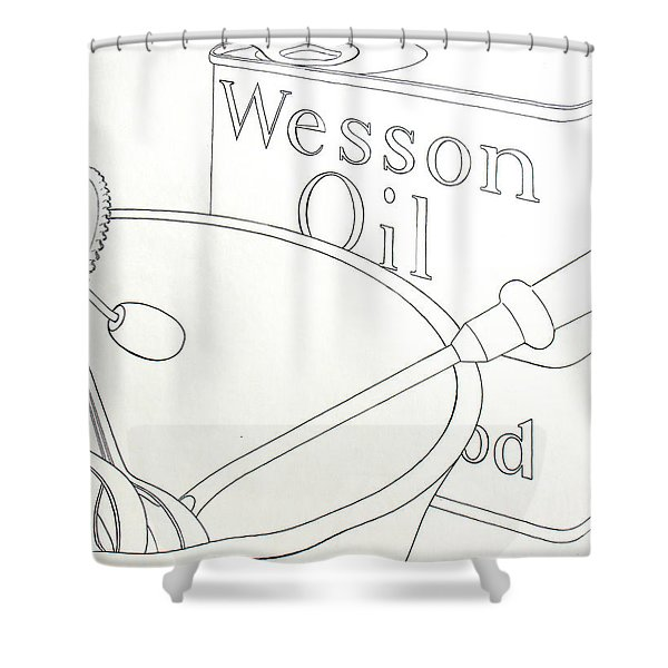 Wesson Oil Shower Curtain