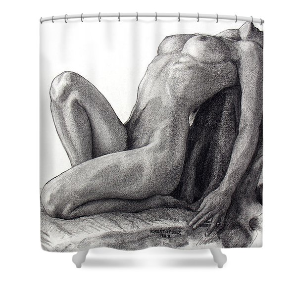 Infinite Surrender Shower Curtain