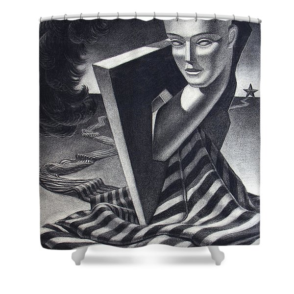 Architecture Of Imagination Shower Curtain