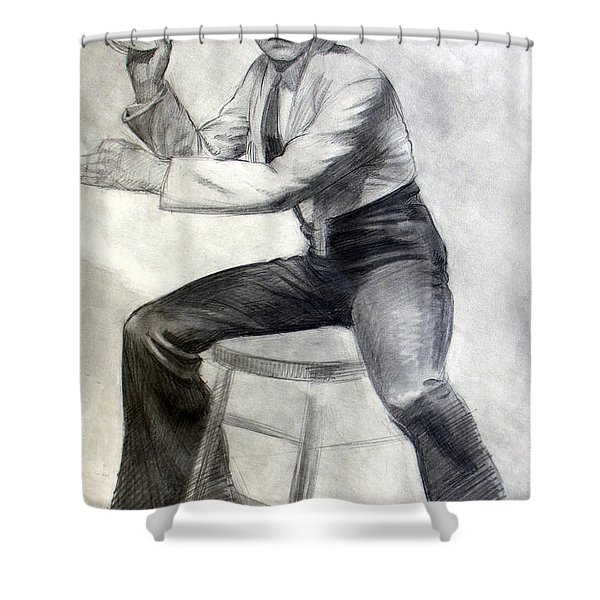 Tambourine Man Shower Curtain
