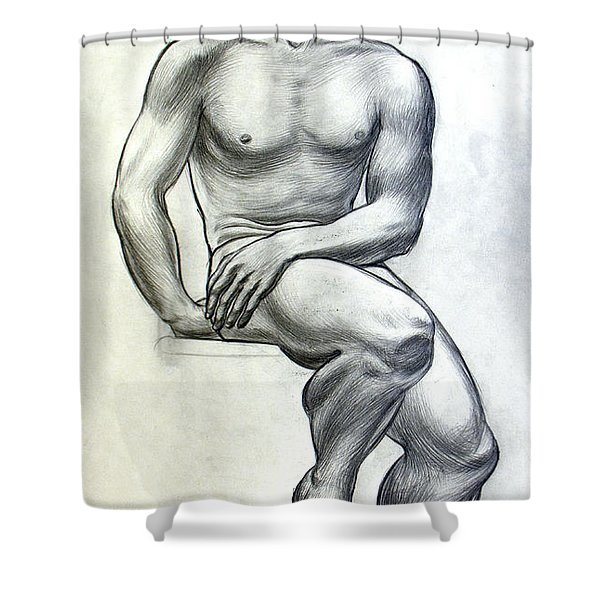 Physical Culture Shower Curtain