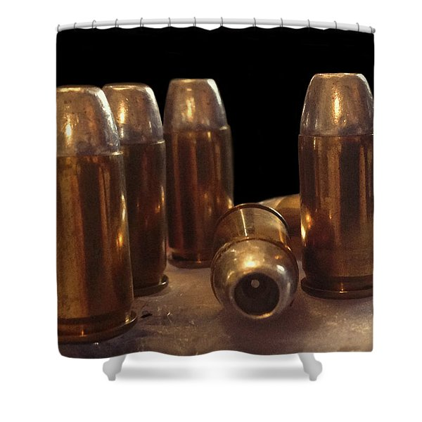 Bullet Art 32 Caliber Bullets 3514 Shower Curtain