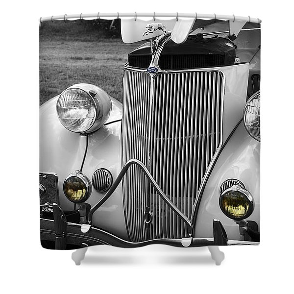 '36 Ford Coupe Shower Curtain