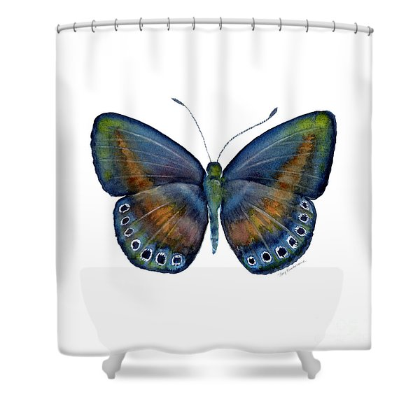 39 Mydanis Butterfly Shower Curtain